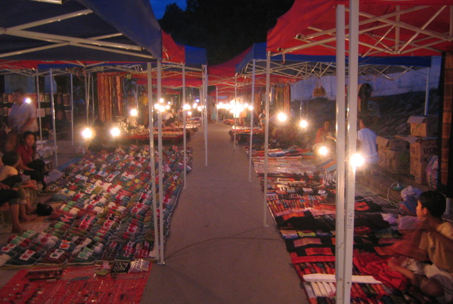 Handicraft Night Market, Luang Prabang, Laos