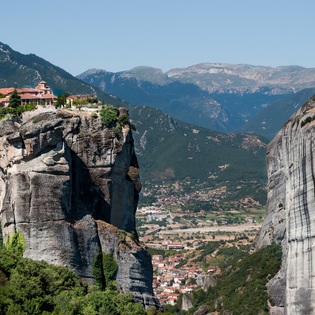 Meteora, Greece, Kalabaka, Greece