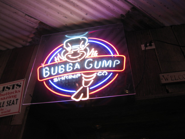 Bubba Gump, New York, New York