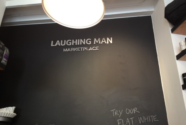 Laughing Man, New York, New York