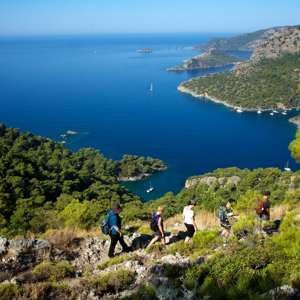 Lycian Way Trail, Kayaköy, Turkey