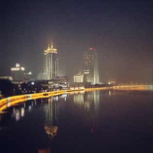 Yuyao River, Ningbo, China
