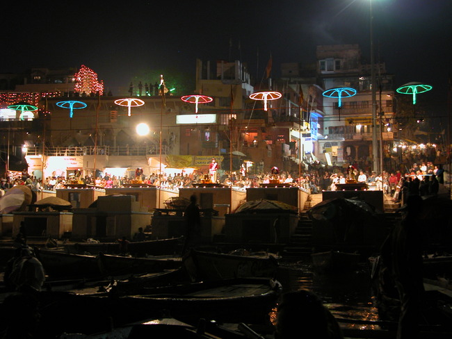 The Bhadaini Ghat , Varanasi, India