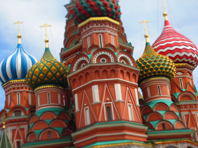 St Basil's Cathedral, Moscow, Russian Federation