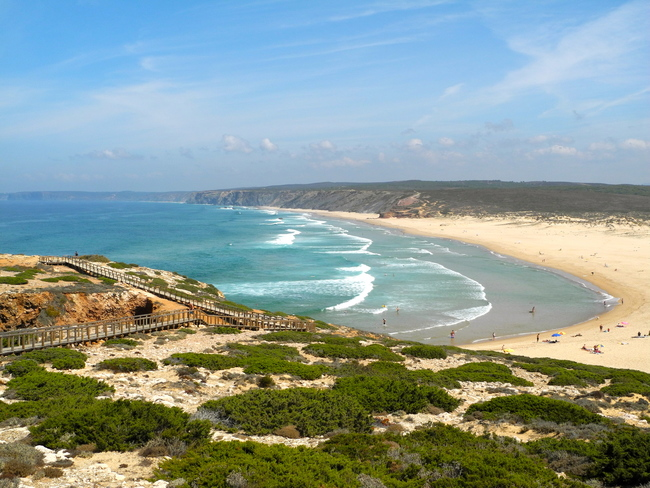 Amado Beach, Carrapateira, Southwest Alentejo and Vicentine Coast Natural Park, Portugal