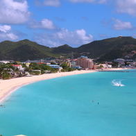 Great Bay Beach, Philipsburg, Sint Maarten