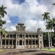 'Iolani Palace, Honolulu, Hawaii