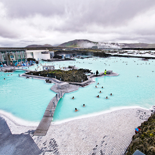 Blue Lagoon Thermal Spa, Southern Peninsula, Iceland