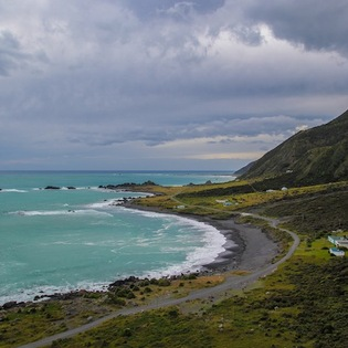 Cape Palliser Lighthouse, Cape Palliser, New Zealand