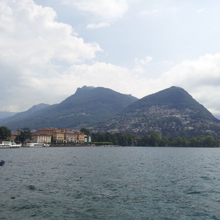 Lake Lugano, Lugano, Switzerland