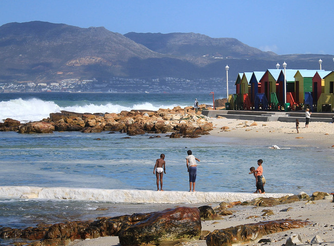 St. James Beach, Cape Town, South Africa