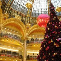 Galeries Lafayette Haussmann, Paris, France