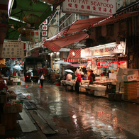 Graham Street Market, Central, Hong Kong