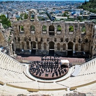 Herodes Atticus Odeon, Athens, Greece
