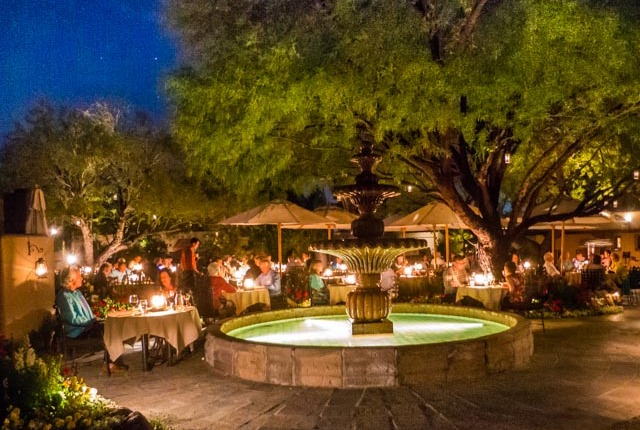 best romantic outdoor dining in phoenix