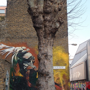 Streets of Hoxton, London, United Kingdom