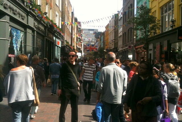 Carnaby Street, London, United Kingdom