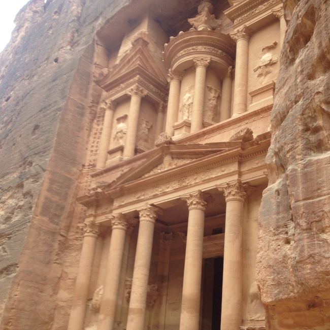 "Al Khazneh - ""The Treasury"", Maan, Jordan"