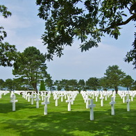 Normandy American Cemetery and Memorial, Colleville-sur-Mer, France