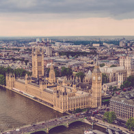 Best view of the House of Parliament, London, United Kingdom
