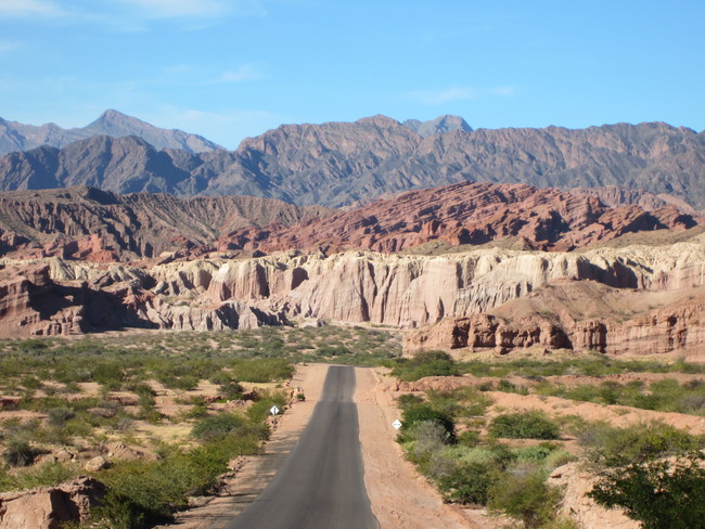 The Road to Cafayate, Tafí del Valle Dept, Argentina