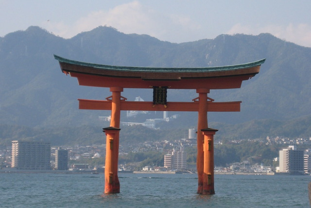 Itsukushima Shinto Shrine, Hatsukaichi, Japan