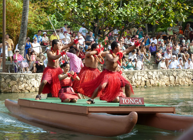 Polynesian Culture Center, Laie, Hawaii