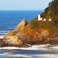 Heceta Head Lighthouse, Yachats, Oregon