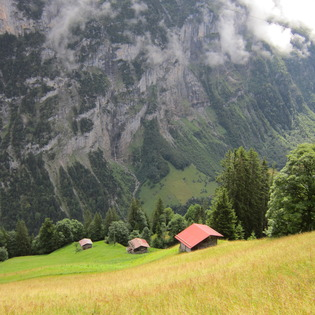 Gimmelwald, Lauterbrunnen, Switzerland
