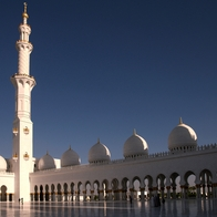 Sheikh Zayed Grand Mosque , Abu Dhabi, United Arab Emirates