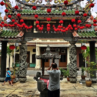 Thean Hou Temple, George Town, Malaysia