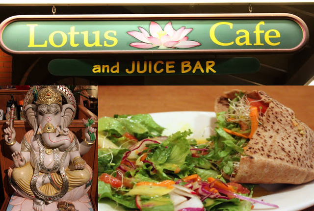 Lotus Cafe & Juice Bar, Encinitas, California