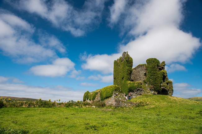 Ballycarbery Castle, Kerry, Ireland