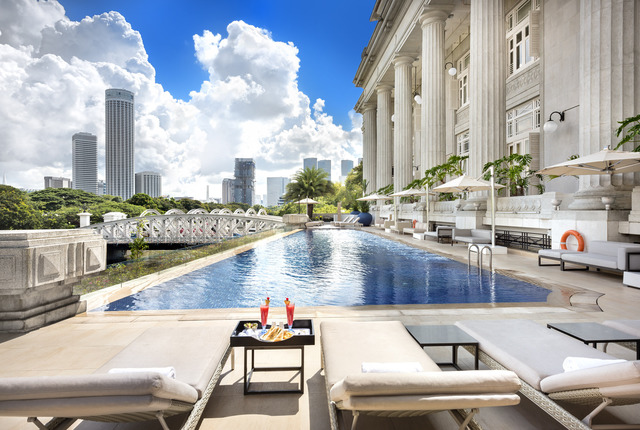 Post display cropped swimming pool iii   the fullerton hotel singapore