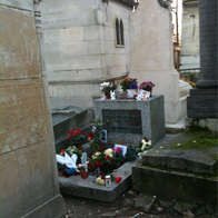 Tombe de Jim Morrison, Paris, France