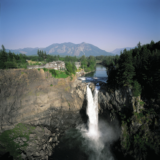 Salish Lodge And Spa, Snoqualmie, Washington