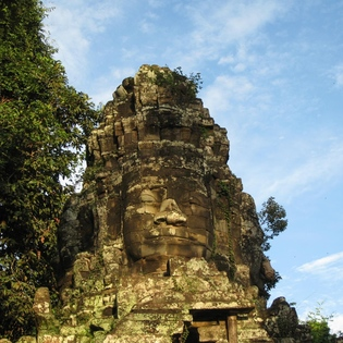 The Bayon Temple, Krong Siem Reap, Cambodia