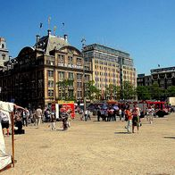 Dam Square, Amsterdam, The Netherlands