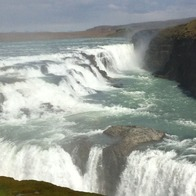 Gullfoss Waterfall, Iceland, South, Iceland