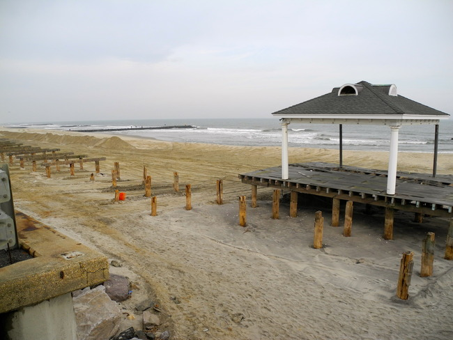 Avon jetty beach, Avon-by-the-Sea, New Jersey