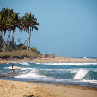 Encuentro Surf Beach, Cabarete, Dominican Republic