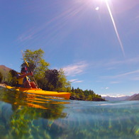 Lake Wanaka, Cattle Flat, New Zealand
