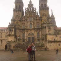 Learn Spanish walking Camino de Santiago, Santiago de Compostela, Spain