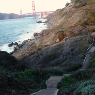 Battery to Bluffs Trail, San Francisco, California