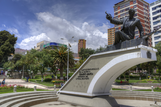 Plaza Abaroa, La Paz, Our Lady of Peace, Bolivia