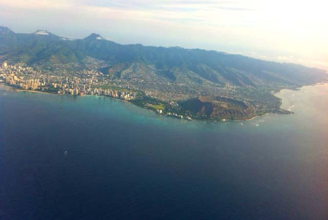Diamond Head Crater Park, Honolulu, Hawaii