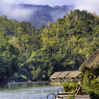 River Kwai Jungle Rafts, Boek Phrai, Thailand