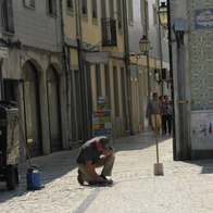 Sidewalks , Aveiro, Portugal