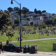 Mission Dolores Park, San Francisco, California