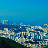 Peak from Jeonpo to Gwangalli, Busan, South Korea